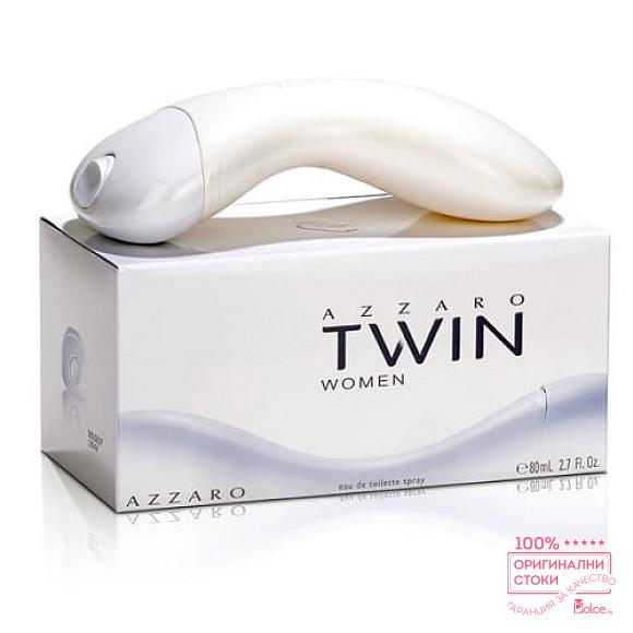 Azzaro Twin EDT - тоалетна вода за жени без опаковка