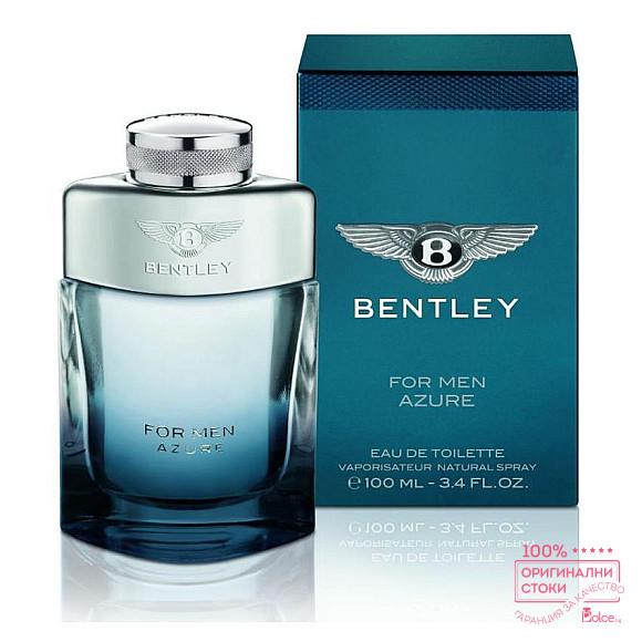 Bentley For Men Azzure EDT - тоалетна вода за мъже без опаковка