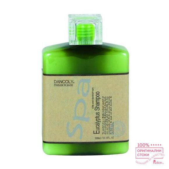 Angel Eucalyptus Shampoo Шампоан Евкалипт за мазна коса и пърхот