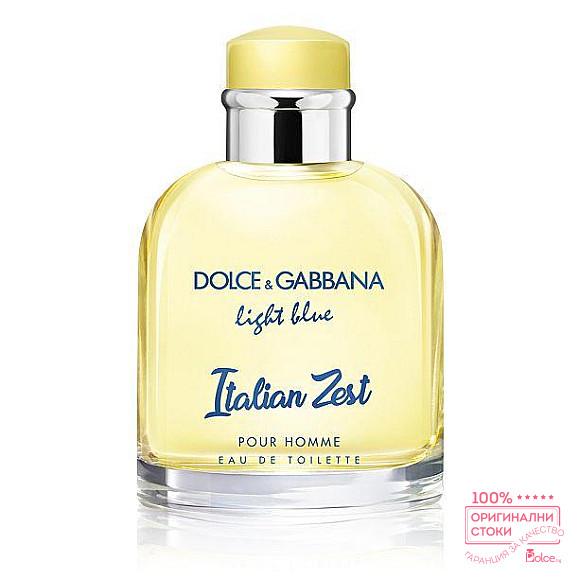 Dolce & Gabbana Light Blue Italian Zest EDT - тоалетна вода за мъже без опаковка