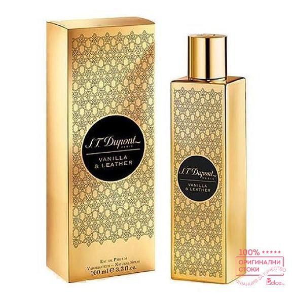 S.T Dupont Vanilla & Leather EDP - унисекс парфюм