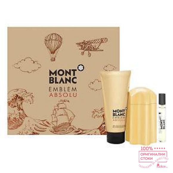 Mont Blanc Emblem Absolu - подаръчн комплект за мъже