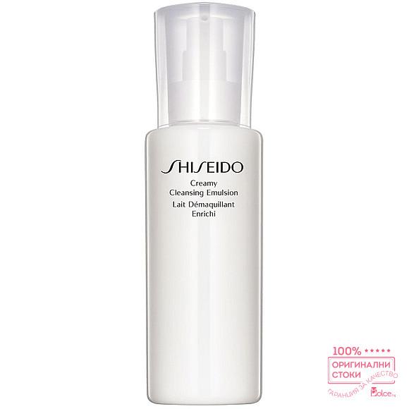 Shiseido Creamy Cleansing Emulsion Почистваща емулсия за лице