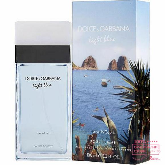 Dolce & Gabbana Light Blue Love in Capri Парфюм за жени EDT