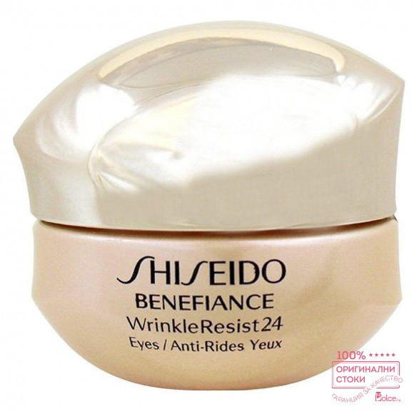 Shiseido Benefiance WrinkleResist24 Intensive Eye Contour Cream Интензивен подхранващ крем за околоочния контур