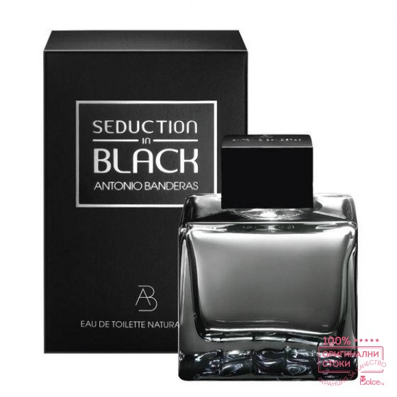 Antonio Banderas Seduction in Black EDT - тоалетна вода за мъже