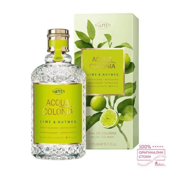 4711 Acqua Colonia White Lime & Nutmeg Унисекс парфюм EDC