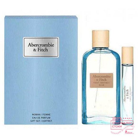 Abercrombie & Fitch First Instinct Blue - подаръчен комплект за жени