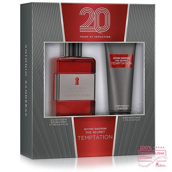 Antonio Banderas The Secret Temptation  - подаръчен комплект за мъже