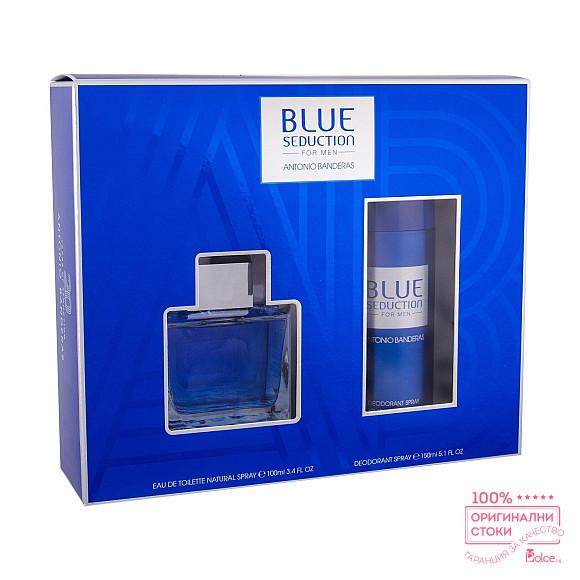 Antonio Banderas Blue Seduction Подаръчен комплект за мъже