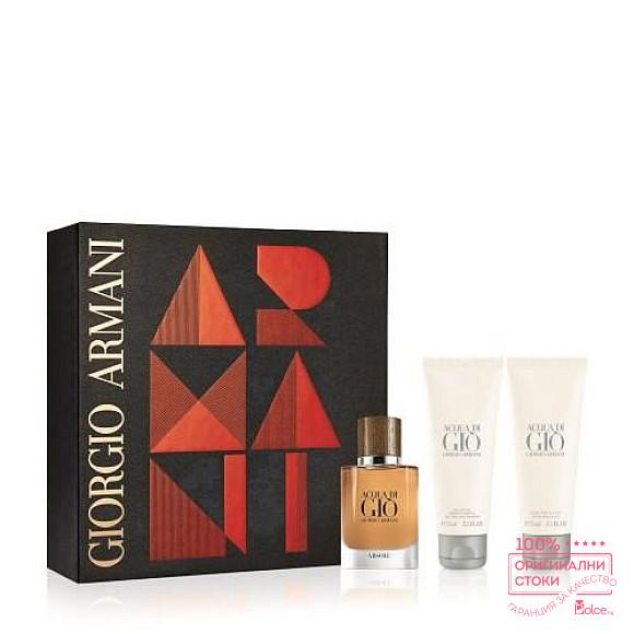 Armani Acqua di Gio Absolu Подаръчен комплект за мъже