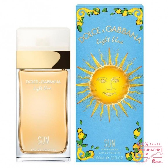 Dolce & Gabbana Light Blue Sun Парфюм за жени EDT