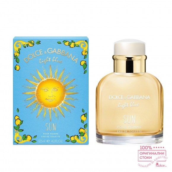 Dolce & Gabbane Light Blue Sun Парфюм за мъже EDT