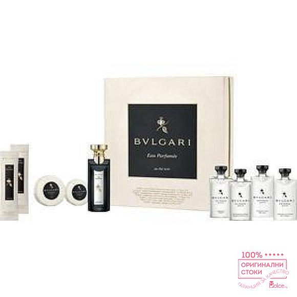 Bvlgari Eau Parfumee au The Noir Подаръчен комплект за мъже и жени