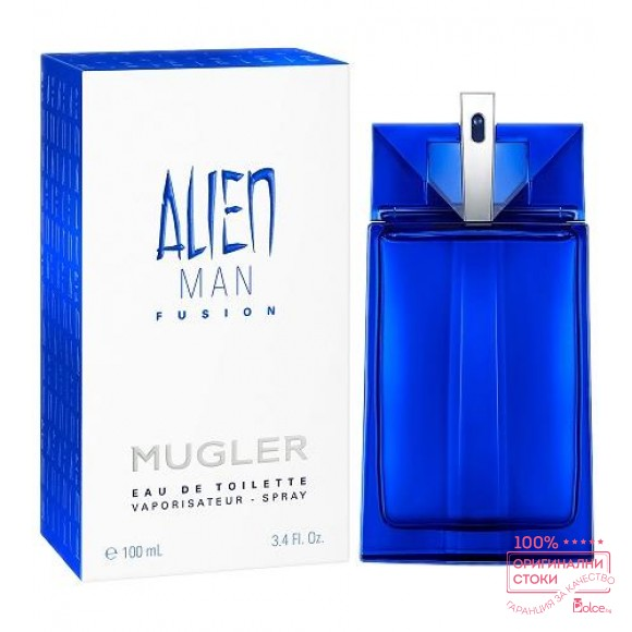 Thierry Mugler Alien Man Fusion EDT - тоалетна вода  за мъже