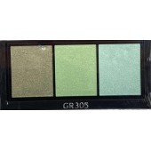 shiseido luminizing satin eye color trio gr305 сенки за очи без опаковка