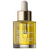 clarins huile santal treatment oil dry skin успокояващо масло за суха кожа без опаковка