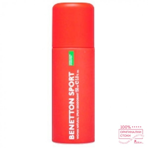 Benetton Sport дезодорант за жени