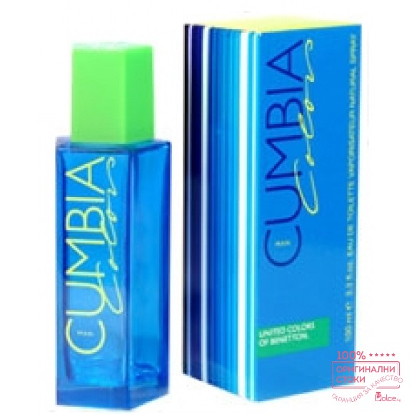 Benetton Cumbia Colors EDT - тоалетна вода за мъже