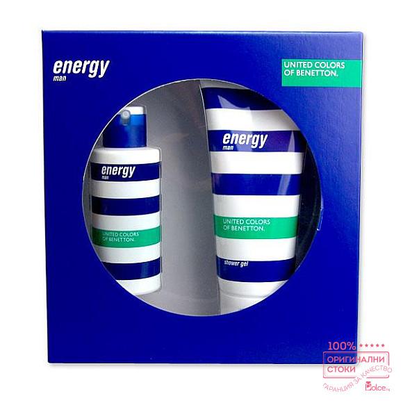 Benetton Energy подаръчен комплект за мъже
