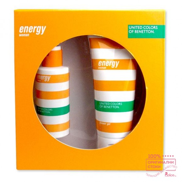 Benetton Energy - дамски подаръчен комплект