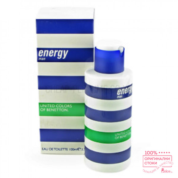 Benetton Energy Мъжки дезодорант