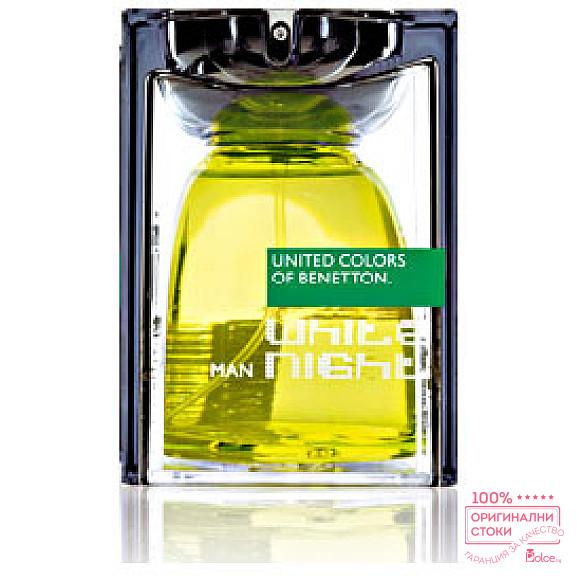 Benetton White Night EDT - тоалетна вода за мъже
