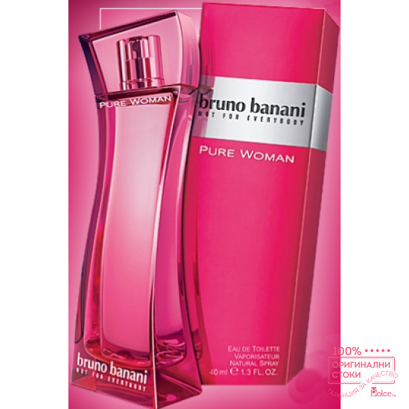 Bruno Banani Pure Woman Eau de Toilette дамски аромат