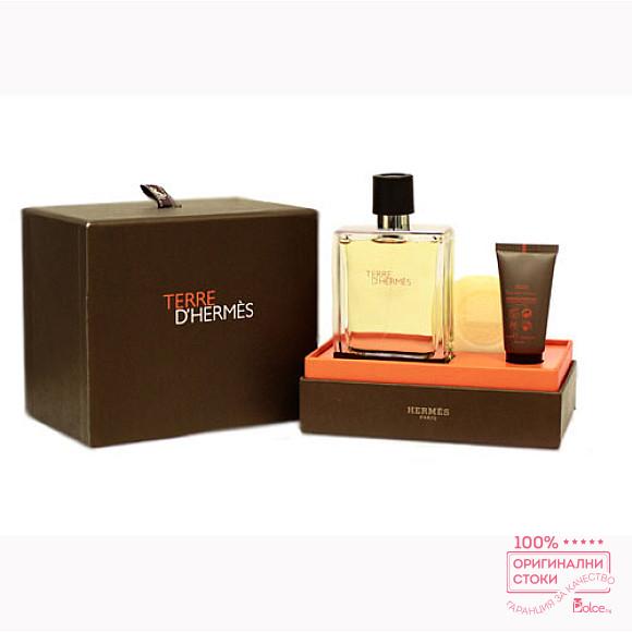 Hermes Terre d`Hermes - подаръчен комплект за мъже