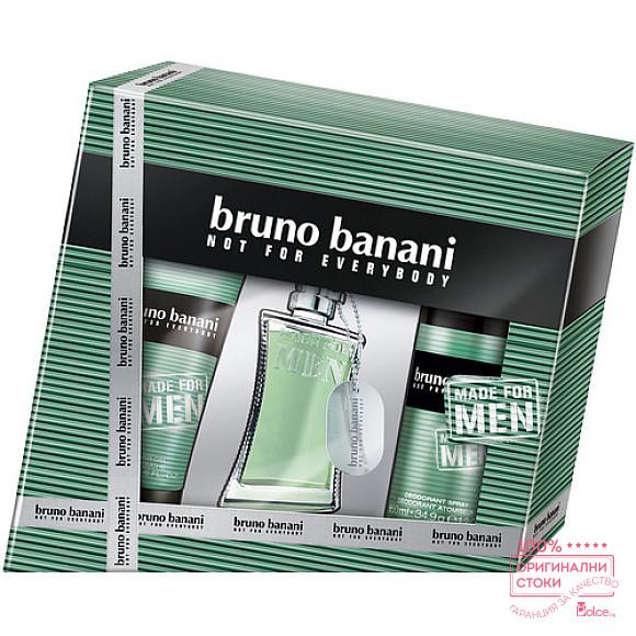 Bruno Banani Made for Men EDT - подаръчен комплект за мъже