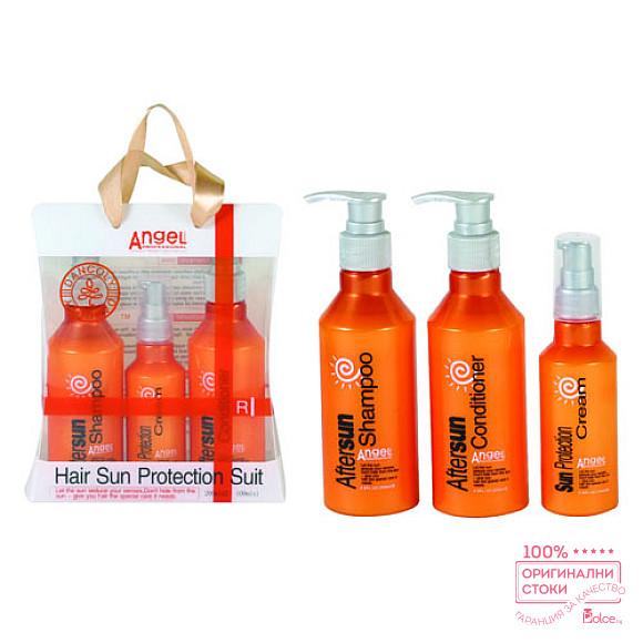 Angel Hair Sun Protection Слънцезащитен комплект за коса