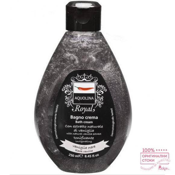 Aquolina Royal пяна за вана с черна ванилия
