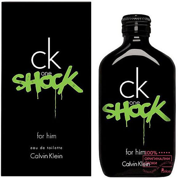 Calvin Klein One Shock EDT - тоалетна вода за мъже