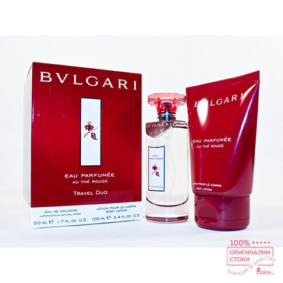 Bvlgari Eau The Rouge Дамски подаръчен комплект