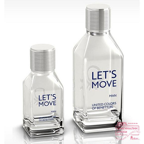 Benetton Let`s Move EDT - тоалетна вода за мъже
