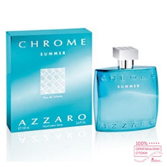 Azzaro Chrome Summer EDT - Тоалетна вода за мъже