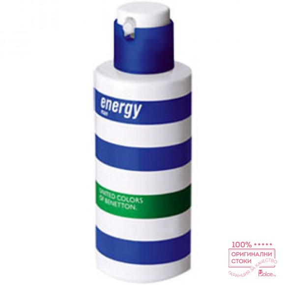 Benetton Energy EDT aромат за мъже без опаковка