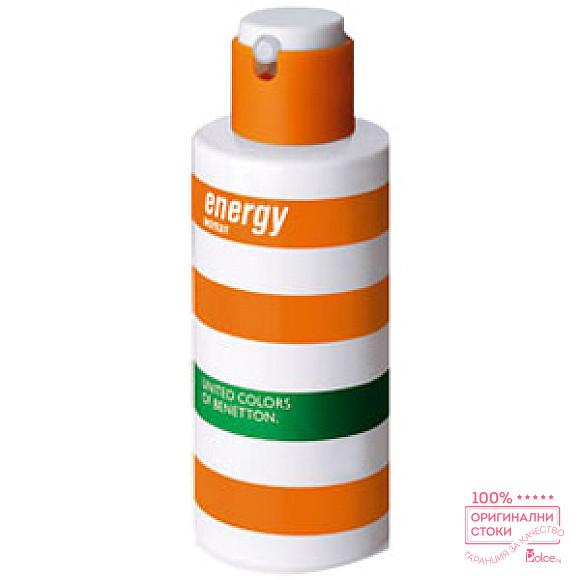 Benetton Energy EDT - тоалетна вода за жени без опаковка
