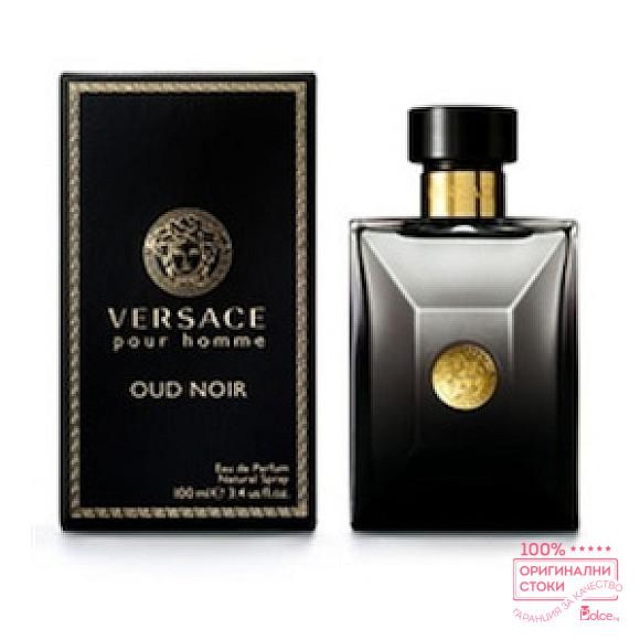 Versace Pour Homme Oud Noir EDP - мъжки парфюм