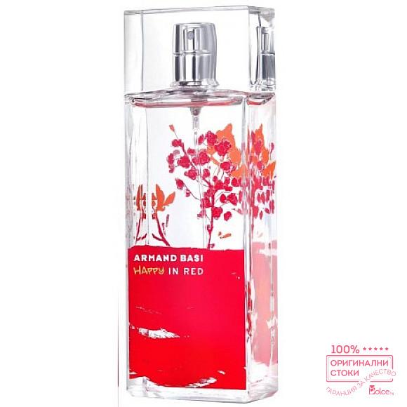 Armand Basi Happy in Red EDT - тоалетна вода за жени без опаковка