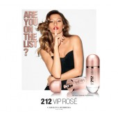Carolina Herrera 212 Vip Rose EDP - дамски парфюм