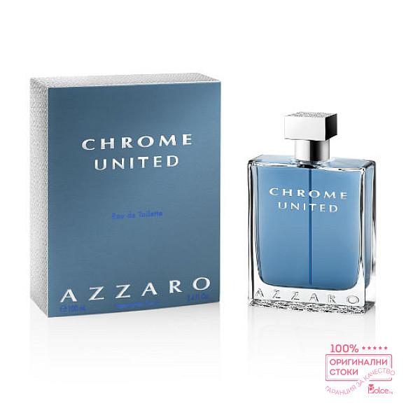 Azzaro Chrome United EDT - тоалетна вода за мъже