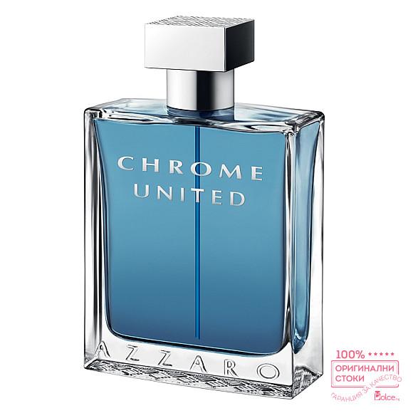 Azzaro Chrome United EDT - тоалетна вода за мъже без опаковка