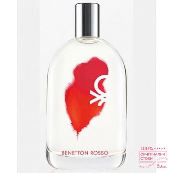 Benetton Rosso Woman EDT - тоалетна вода за жени  без опаковка