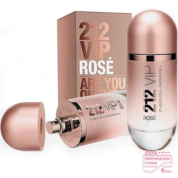 Carolina Herrera 212 Vip Rose EDP - подаръчен комплект за жени
