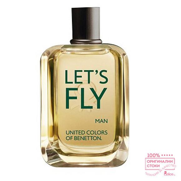 Benetton Let`s Fly EDT - тоалетна вода за мъже без опаковка