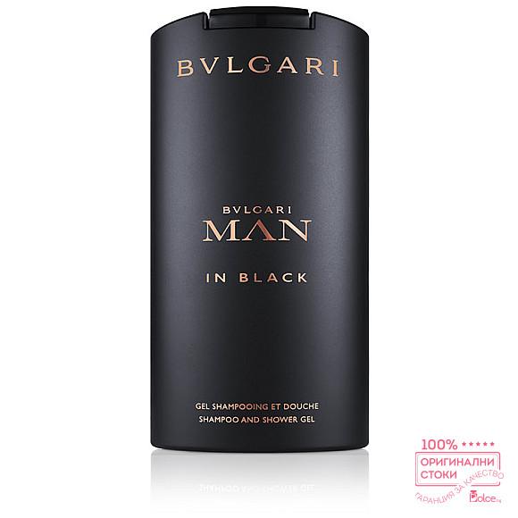 Bvlgari Man in Black душ гел за мъже