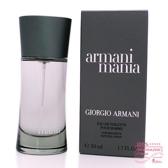 Giorgio Armani Mania EDT - тоалетна вода за мъже
