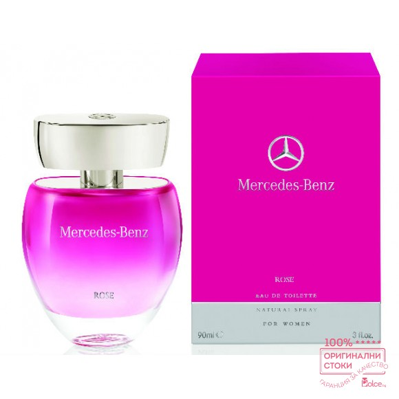 Mercedes Benz Rose EDT - тоалетна вода за жени