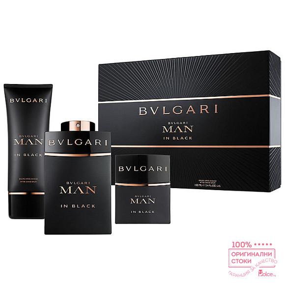 Bvlgari Man in Black EDP - подаръчен комплект за мъже